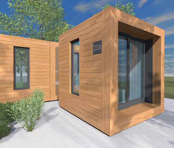 Garden rooms garden studios cornwall devon live in box for Sips garden buildings